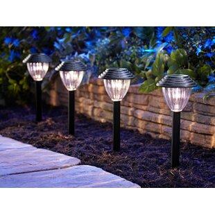 Solar Woven 4 Piece Set 1 Light LED Pathway Light (Set of 16)
