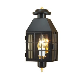 Breakwater Bay Hailie 1-Light Outdoor Flush Mount