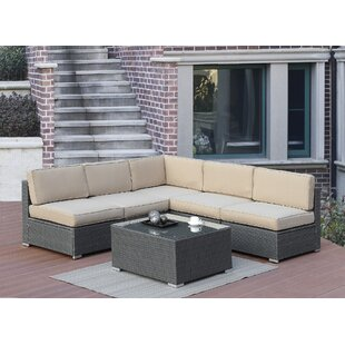 Rosecliff Heights Lympsham 6 Piece Sectional Set