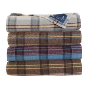 Chalet Wool Blanket by Poyet Motte Bargain