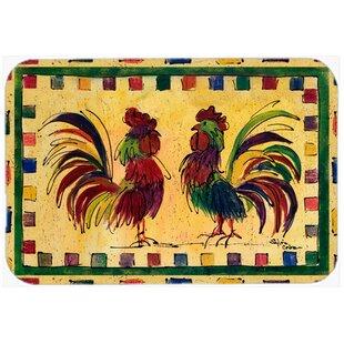 Bird Rooster Kitchen/Bath Mat