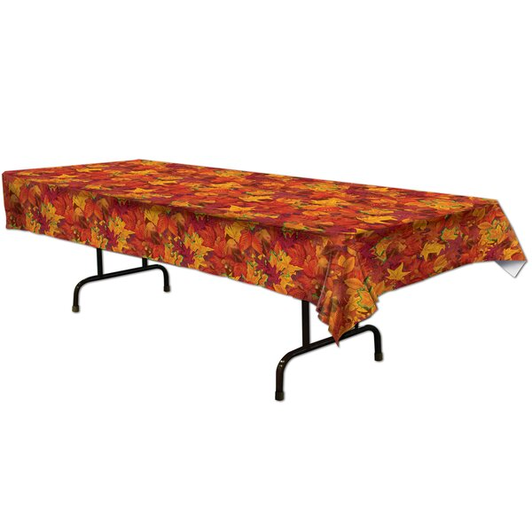 Fall/Thanksgiving Fall Leaf Table Cover
