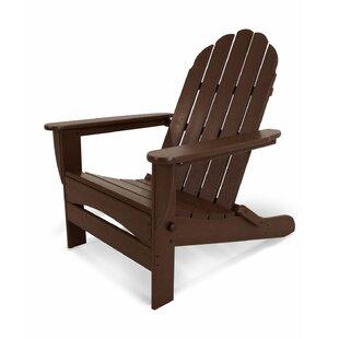Classic Adirondack Oversized Curveback Chair by POLYWOOD®