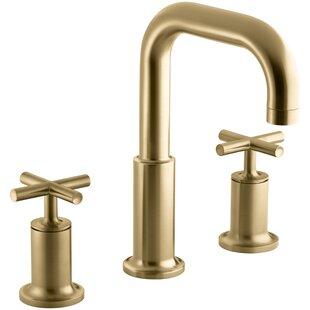 Top Reviews Purist Deck-Mount Bath Faucet Trim for High-Flow Valve with Cross Handles, Valve Not Included ByKohler