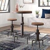 Carmona 3 Piece Adjustable Pub Table Set by Trent Austin Design®