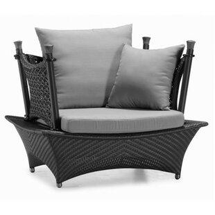 100 Essentials Zen Single Sofa with Cushi..