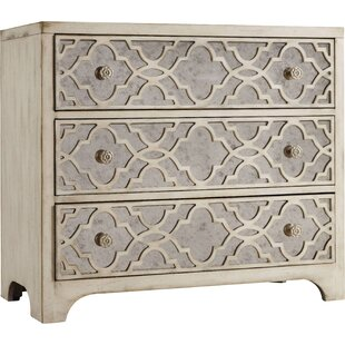 Sanctuary 3 Drawer Fretwork Chest