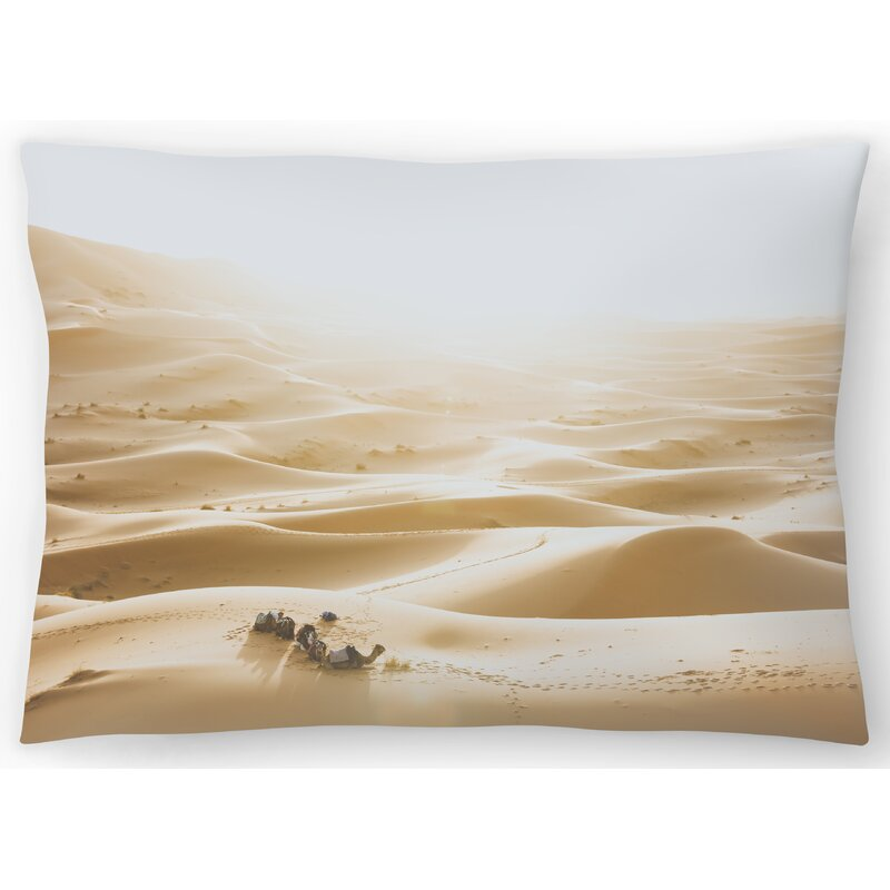 East Urban Home Sahara Desert Lumbar Pillow Wayfair