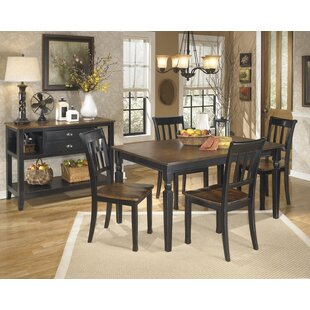 Carrol 5 Piece Dining Set by Winston Porter