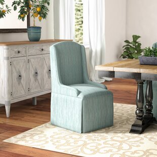 Doric Petite Wing Back Skirted Arm Chair ..
