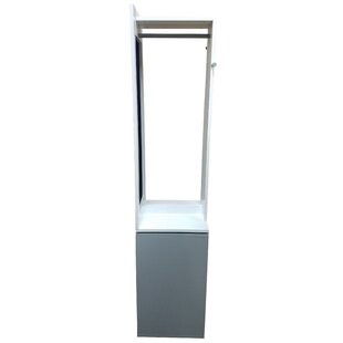 Evideco Modern D 360° Swiveling Storage Cabinet Coat Rack