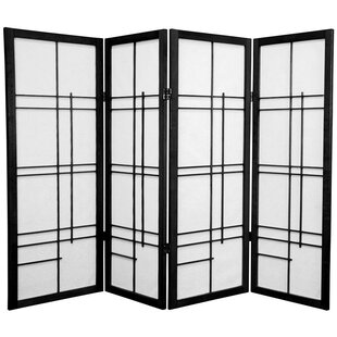 Purchase Clara Shoji 4 Panel Room Divider By World Menagerie