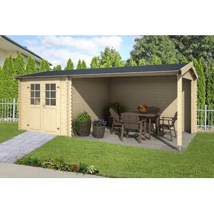 Wilkin 19 X 10 Ft. Tongue & Groove Summer House By Sol 72 Outdoor