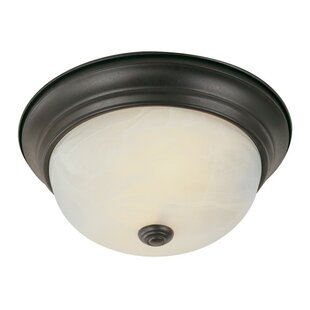 Winston Porter Coraima 2-Light Flush Mount