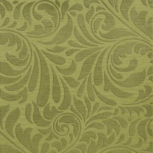 Top Bella Machine Woven Wool Green Pad Area Rug By Dalyn Rug Co.