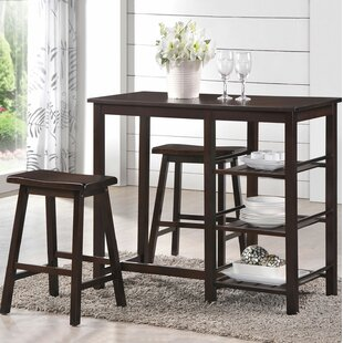 Caballero 3 Pieces Pub Table Set
