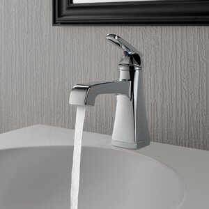 Ashlyn Single hole Single Handle Bathroom Faucet with Drain Assembly and Diamond Seal Technology