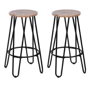 Wondrous Heston 63 5Cm Bar Stool Set Of 2 Frankydiablos Diy Chair Ideas Frankydiabloscom