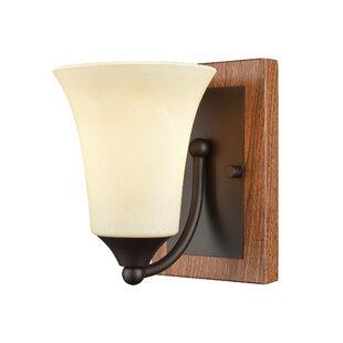 Millwood Pines Sapphire 1-Light Bath Sconce