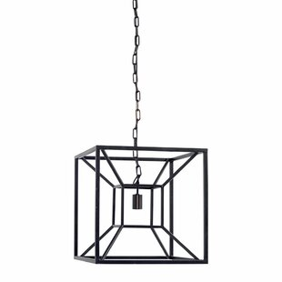 Navarra 1-Light Square/Rectangle Pendant by Brayden Studio