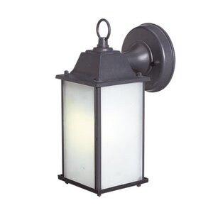 Order Marianna Contemporary 1-Light Outdoor Wall Lantern By Charlton Home