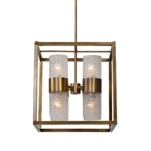Online Reviews Mariemont Cube 8 -Light LED Square/Rectangle Pendant By Mercer41