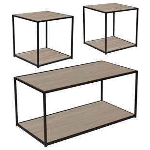 Ebern Designs Nault 3 Piece Coffee Table Set