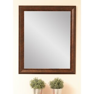 Hill Vintage Copper Wall Mirror By Brandt Works LLC