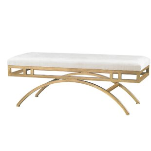 Willa Arlo Interiors Ritenour Metal Bench