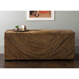 Wilmer Wood Storage Bench by Beachcrest Home
