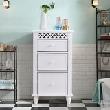 16 W x 28.5 H x 12 D Free-Standing Bathroom Cabinet by Gorifly