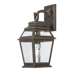 Crossroads Point 1-Light Outdoor Wall Lantern