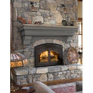 Hadley Fireplace Shelf Mantel By Pearl Mantels