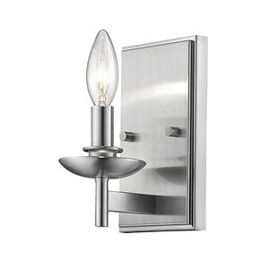 Order Noland 1-Light Candle Wall Light By Charlton Home