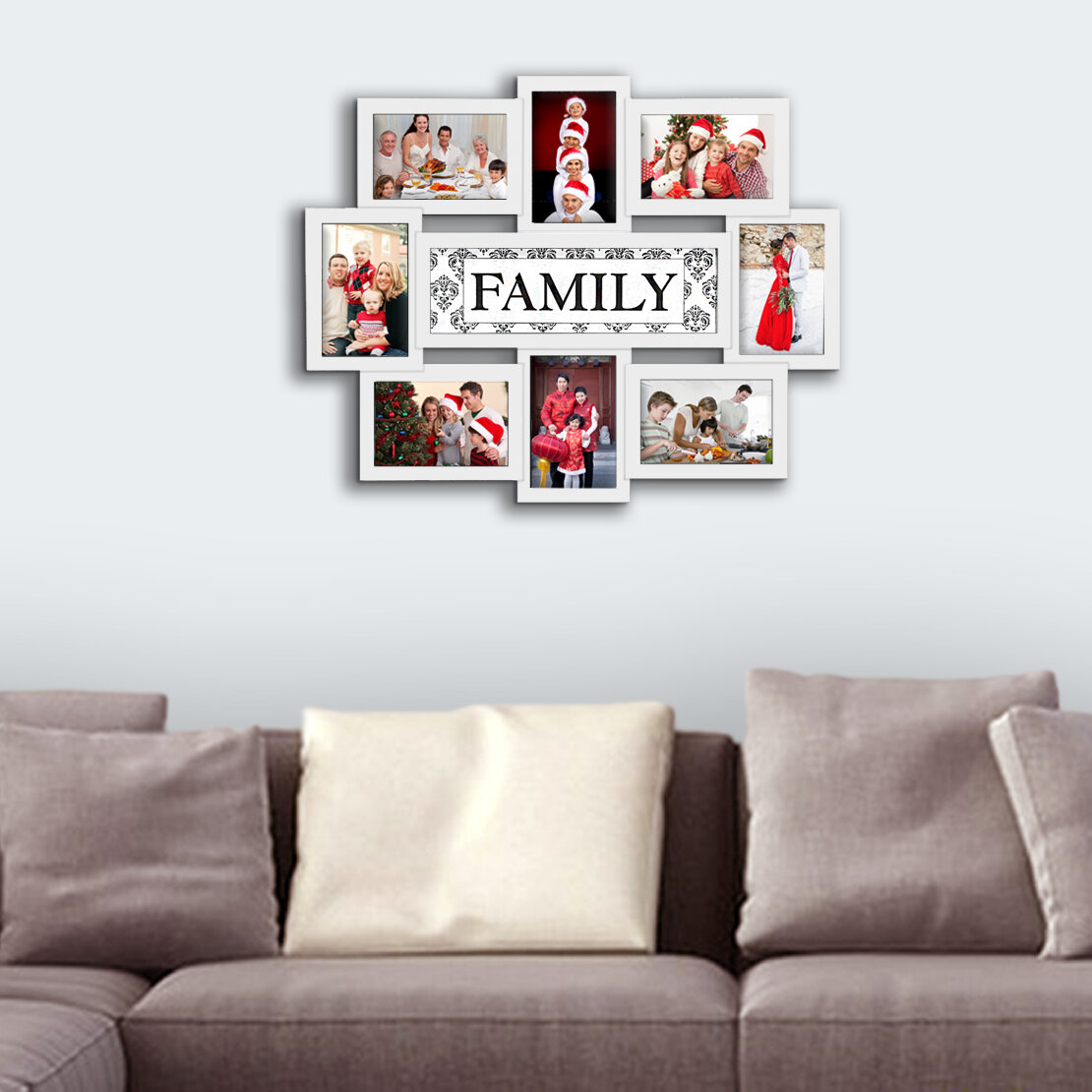 Red Barrel Studio Geffrey Family Selfie Gallery Collage Wall Hanging Picture Frame Reviews Wayfair