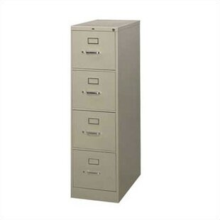 HON 210 Series 4-Drawer Vertical Filing Cabinet