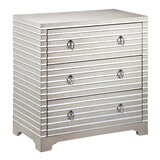Luton 3 Drawer Mirrored Accent Chest by House of Hampton®