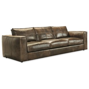 Price Check Solace Leather Sofa by Hooker Furniture Reviews (2019) & Buyer's Guide