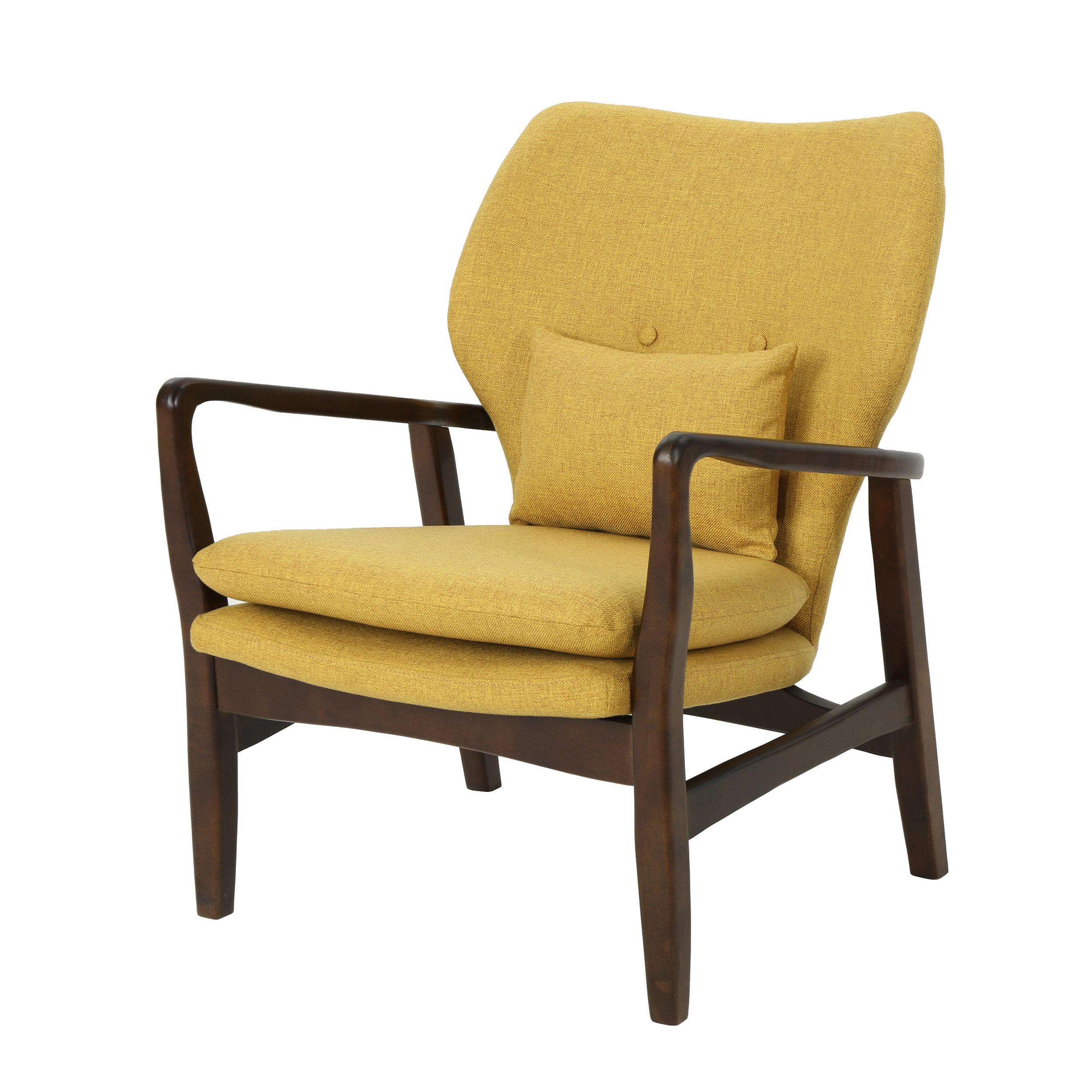 Picture of: George Oliver Regina Mid Century Modern Armchair Reviews Wayfair Co Uk