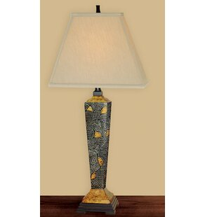 Mystified Hand Painted Porcelain 33 Table Lamp