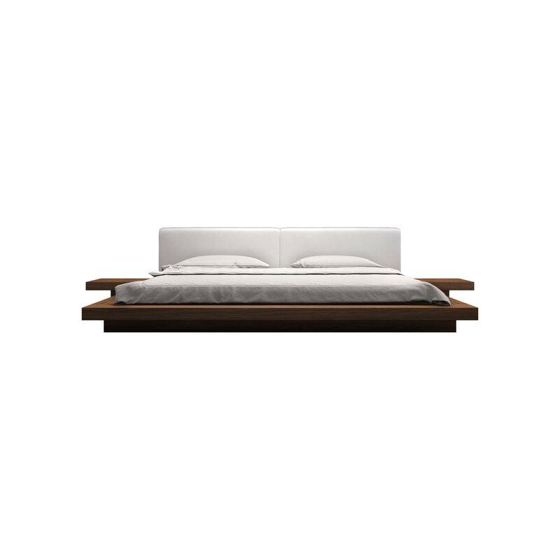 Coalville upholstered Japanese platform bed