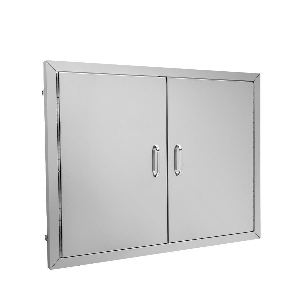 Ktaxon Double Stainless Steel Drop In Access Door Wayfair