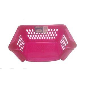 Reviews Stack 'n Nest Plastic Basket (Set of 3) By Rebrilliant