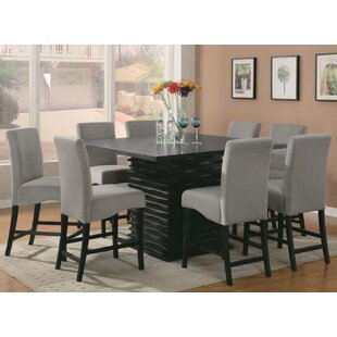 Lafond 9 Piece Counter Height Dining Set Bloomsbury Market