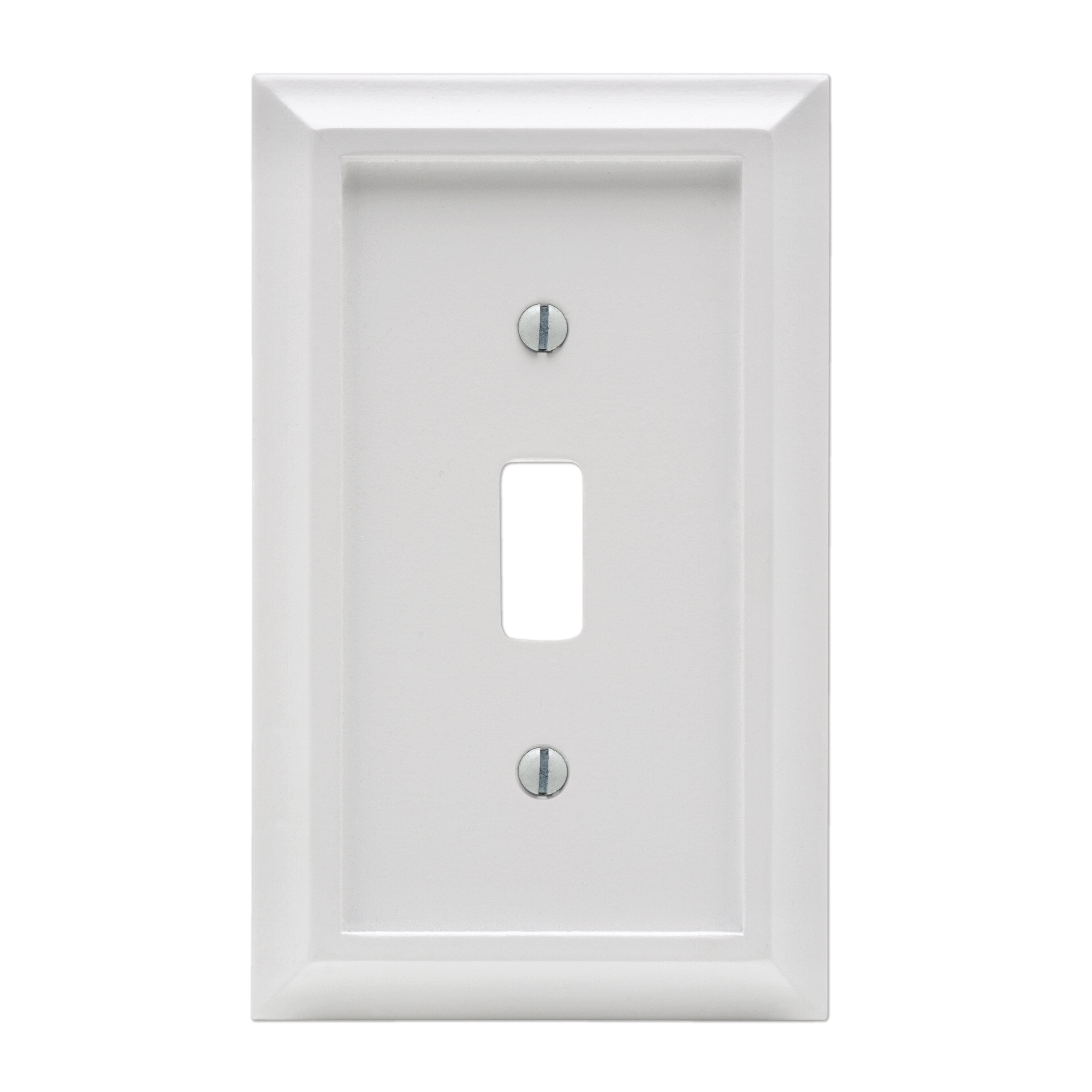 Amertac Deerfield 1 Gang Toggle Light Switch Wall Plate Wayfair