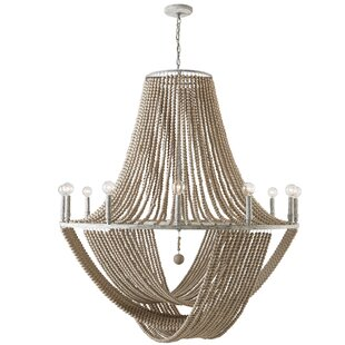 Bungalow Rose Manervia 12-Light Empire Chandelier