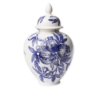 Melagrana Blu Ginger Jar