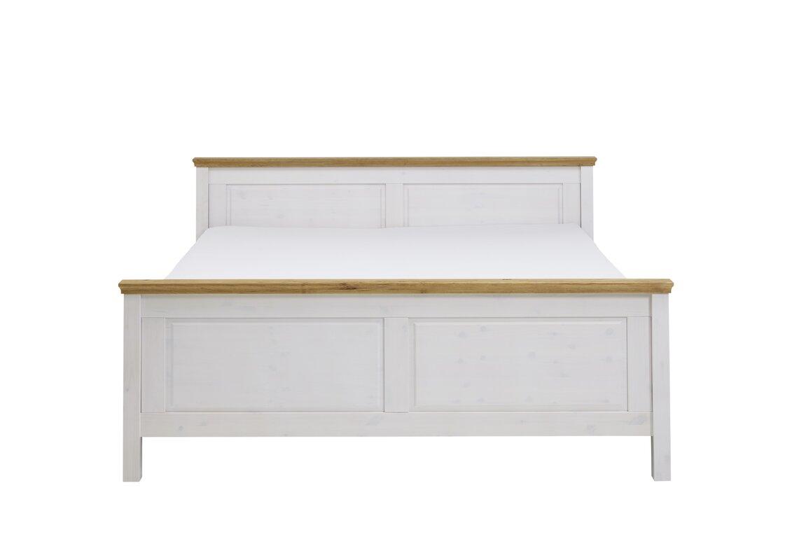 sommerallee massivholzbett castleford mit stauraum 200 x 200 cm. Black Bedroom Furniture Sets. Home Design Ideas