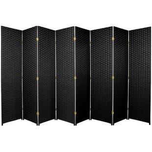 Best Price Wassim 8 Panel Room Divider ByWorld Menagerie
