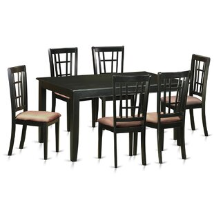 Araminta 7 Piece Dining Set by Alcott Hill Savings
